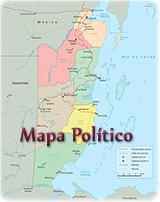 Mapa Geografico De Belize