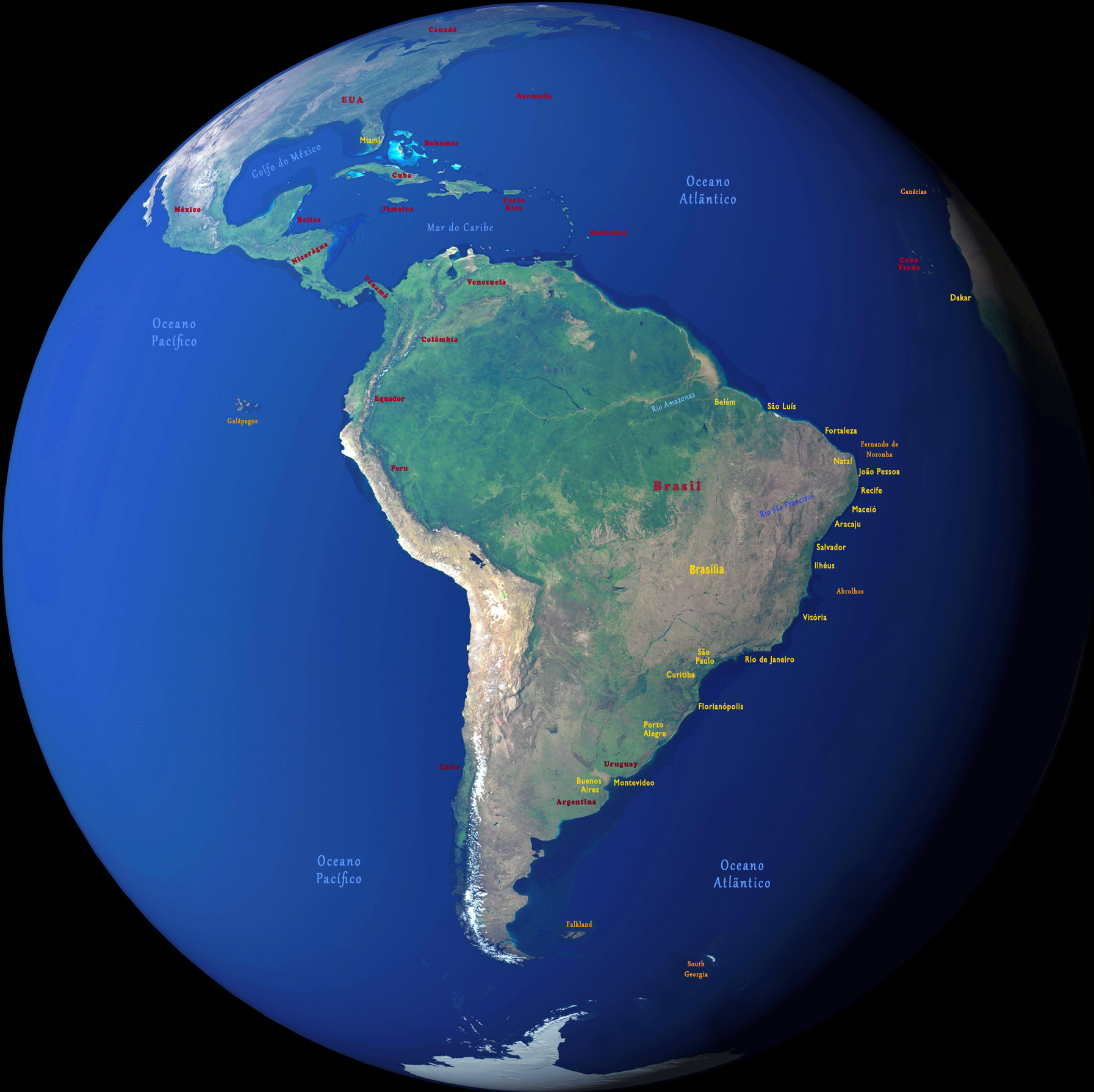 Globo América Sul